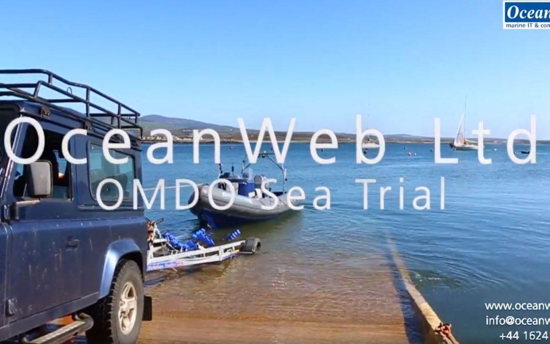 OMDO Sea Trials