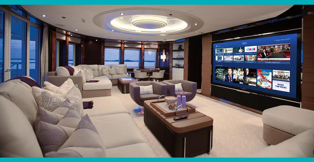 TV onboard